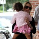 Elin Nordegren Steps Out Post-Divorce With The Kids