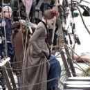 Gabriella Wilde – Filming 'Poldark' in Charleston - 454 x 556