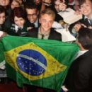 Premiere of  Harry Potter and the Deathly Hallows: Part 2 in Rio de Janeiro! Tom has been looking awesome at the past