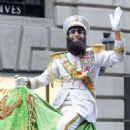 Camel Riding Sacha Baron Cohen: Big Apple Dictator