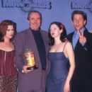 "The Cast of ""Scream"" attends The 1997 MTV Movie Awards"