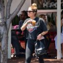 Ashley Benson – Grabbing an iced drink in Los Angeles