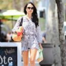 Jordana Brewster:  out and about in Brentwood