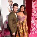 Priyanka Chopra and Nick Jonas : Premiere Of Warner Bros. Pictures' 'Isn't It Romantic - 399 x 600
