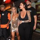 Amber Rose and Paloma Ford Leaving Playhouse Nightclub in Hollywood, California - July 29, 2017