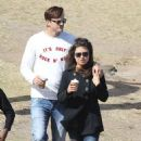 Mila Kunis with Ashton Kutcher: in Sydney
