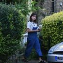 Jenna Louise Coleman at her Home in North London September 25, 2016 - 454 x 369