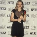 Jodie Foster At The 49th Annual Golden Globe Awards - Winner Best Actress for Silence of the Lambs (1992) - 350 x 525