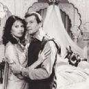 Maud Adams and Roger Moore - 454 x 310
