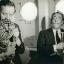 Dali and Capitain Moore with an Ocelot