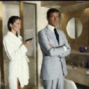 Roger Moore and Maud Adams - 454 x 300