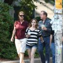 Emma Watson - Spends The Day With Her Family As She Settles Into Starting Her Studies In Providence, 14. 9. 2009.