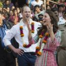 The Duke & Duchess of Cambridge Visit India - Day 1