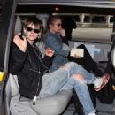 Kristen Stewart and Stella Maxwell at LAX Airport in Los Angeles