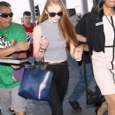 Sophie Turner Departing On A Flight At LAX