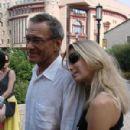 Andrei Konchalovsky and Yuliya Vysotskaya