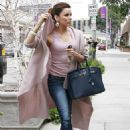 Eva Longoria Heading To Ken Paves Salon In Beverly Hills, February 24 2010 - 454 x 644