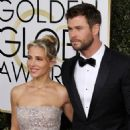 Chris Hemsworth and Elsa Pataky- 74th Annual Golden Globe Awards - 454 x 563