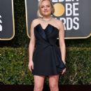 Elisabeth Moss At The 76th Annual Golden Globes  - Arrivals (2019) - 454 x 681