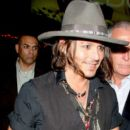 Johnny Depp at the Pink Taco 2