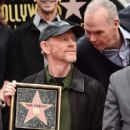 Michael Keaton- December 10, 2015-Ron Howard Is Honored with a Star on the Hollywood Walk of Fame