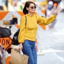 Katie Holmes -Shopping at Isabel Marant and Trico Field in New York
