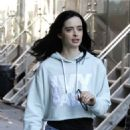 Krysten Ritter on Set of 'The Defenders' in New York 12/1/ 2016 - 454 x 651
