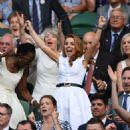 Geri Halliwell – Wimbledon Tennis Championships 2019 in London - 454 x 548