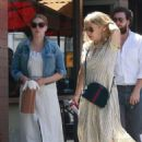 Amy Adams at Nate'n Al Delicatessen in Beverly Hills