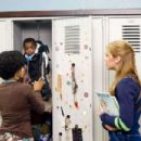 "Charity (Essence Atkins, left) storing her baby before going off to class with Megan (Shoshana Bush, right) in the comic spoof ""Dance Flick."" Photo Credit: Glen Wilson. Copyright ©2009 by PARAMOUNT PICTURES CORPORATION. All Rights Reserved."