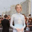 Emma Stone: The Amazing Spider-Man premiere at Oktyabr Cinema in Moscow
