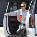 Jennifer Lopez in Spandex – Out for workout in Beverly Hills - 454 x 681