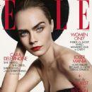 Cara Delevingne – Elle UK Magazine (October 2019)