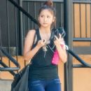 Brenda Song seen stopping by a gym for a workout in Studio City, California on July 26, 2014