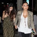 At Mr. Chow Restaurant with Francia Raisa in Beverly Hills (January 24, 2013) - 454 x 714