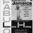 Jamaica 1958 Broadway Musical Paper Ad