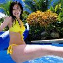 Kusumi Yellow bikini - 454 x 331