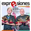 Rene Perez, Calle 13 - Expresiones Magazine Cover [Ecuador] (12 November 2011)