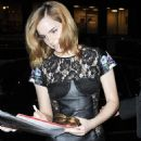 Emma Watson - Arriving At Pulino's Bar And Pizzeria In NYC, 2010-03-25