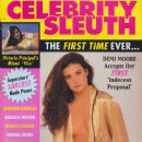 Demi Moore - Celebrity Sleuth Magazine Cover [United States] (December 1994)