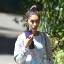 Chantel Jeffries – In yoga pants seen after gym in Los Angeles - 454 x 424
