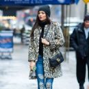 Victoria Justice in Oday Shakar in Midtown, New York City 02/11/2018