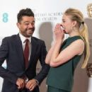 Nominations host British actor Dominic Cooper poses during the photo call for the BAFTA British Academy Film Awards nominations announcement at BAFTA in London on January 10, 2017 - 454 x 320