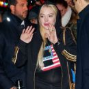 Lindsay Lohan – Arriving at Madison Square Garden for the Jingle Ball concert in NY