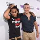 James Van Der Beek and Adi Shankar - 2015 Streamy Awards - 433 x 600
