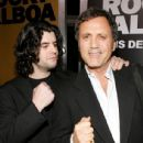 Sage Stallone and Frank Stallone