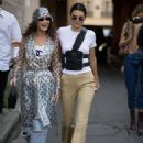 Bella Hadid and Kendall Jenner – Out in Paris