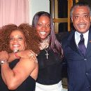 Al Sharpton and Kathy Jordan