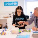 Millie Bobby Brown – Visiting UNICEF Supply in Copenhagen - 454 x 314