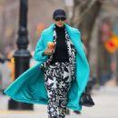 Irina Shayk – leaving Joe and The Juice in NYC